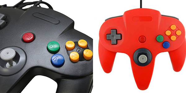 Mando retro Nintendo 64 USB