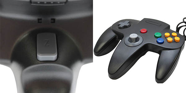 Controlador Nintendo 64 para emuladores