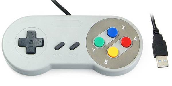 Mando tipo Super Nintendo USB