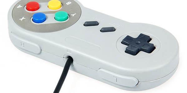 Mando emulación Super Nintendo USB