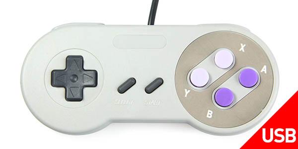 Mando USB estilo Super Nintendo