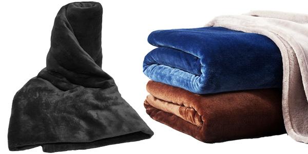 Mantas de franela en varios tamaños baratas en AliExpress