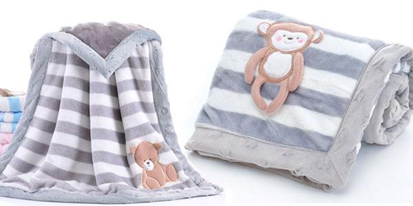 Mantita para bebé en varios modelos barata