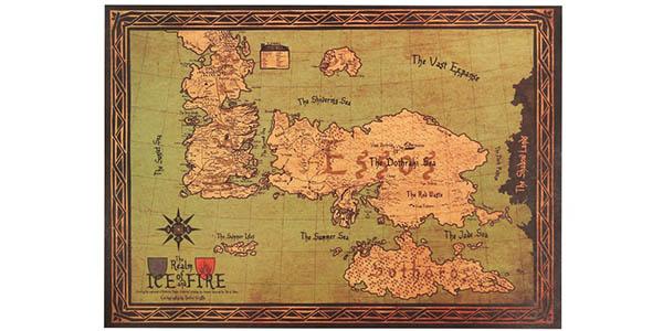 Mapa de Juego de Tronos barato