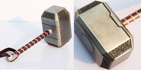 Martillo Mjolnir de Thor de 20 cm barato