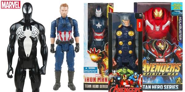 Figuras articuladas Hasbro Superhéroes Marvel de 30 cm chollazo en AliExpress