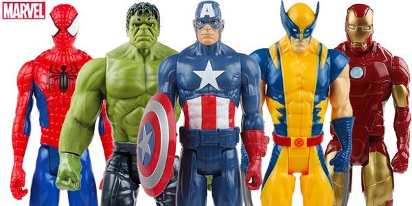 Figuras articuladas Hasbro Superhéroes Marvel de 30 cm baratas en AliExpress