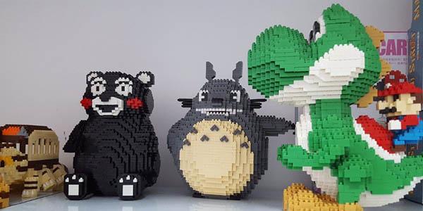 Súper figuras para montar tipo LEGO baratas
