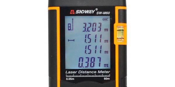 Medidor láser SNDWAY SW-M60 barato