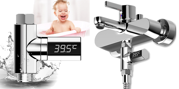 Comprar Medidor de Temperatura de Agua para Ducha barato en Banggood