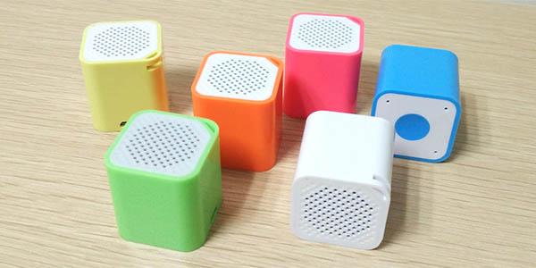 Micro Altavoz Bluetooth cubo