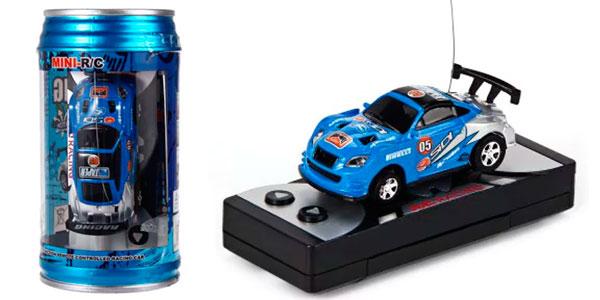 Micro coche teledirigido en lata de refresco barato