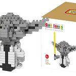 Mini figura Star Wars Yoda estilo LEGO