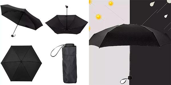 Mini paraguas plegable barato