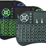 Mini teclado español inalámbrico con touchpad
