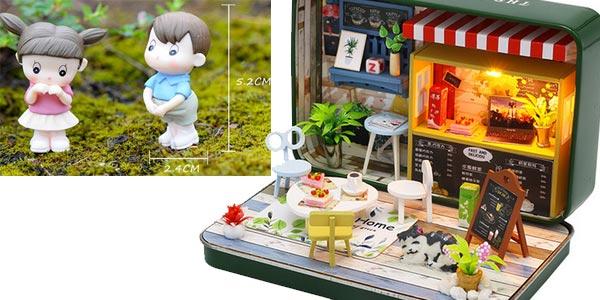 Miniaturas para montar DIY Cute Room chollazo en AliExpress