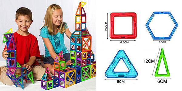 Ejemplos de construcciones con las piezas magnéticas