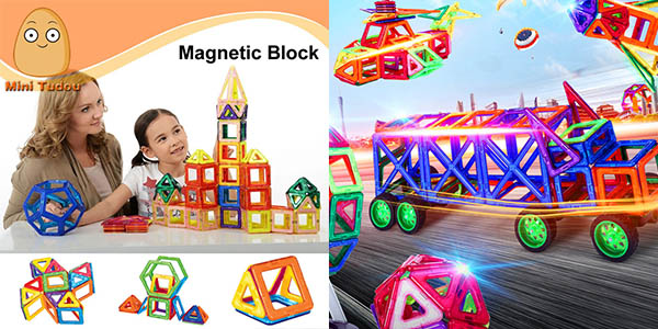 Minitudou Magformers Magnéticos en AliExpress