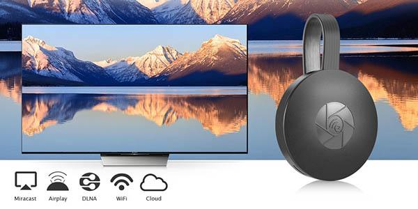 Receptor MiraScreen G2 compatible con Miracast, Airplay y DLNA