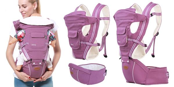 Mochila portabebés Gabesy con diseño ergonómico barata en AliExpress