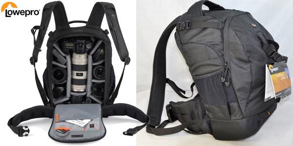 Mochila Lowepro Flipsie 400AW para cámara de fotos barata en AliExpress