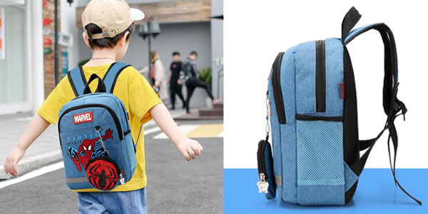 Mochilas escolares Marvel chollo en AliExpress