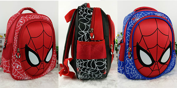 Mochila infantil de Spiderman barata
