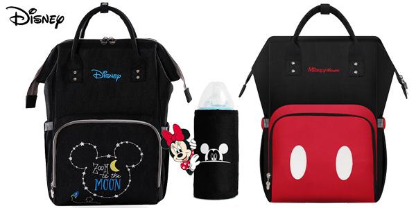 Mochila de lactancia Disney con calentador de biberones por USB chollazo en AliExpress