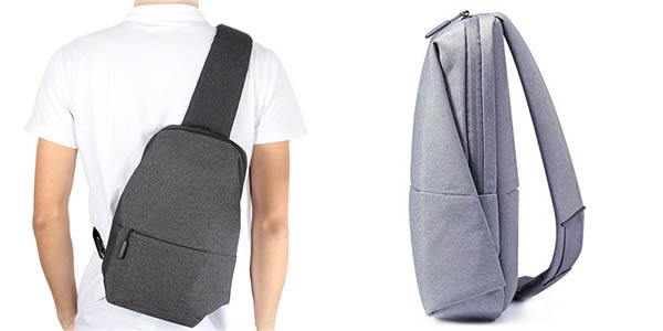 Mochila Xiaomi Sling Bag en color gris