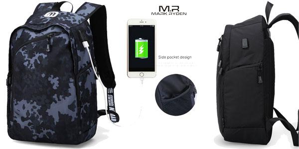 Mochilas Multifunción Mark Ryden con cargador USB chollo en AliExpress