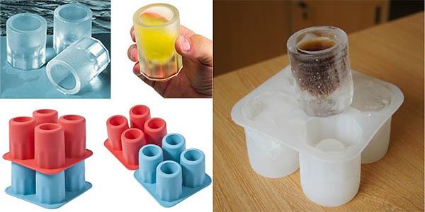 Molde para vasos de chupito de hielo