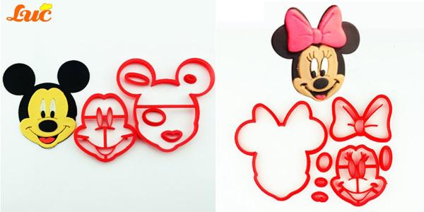 Moldes de Mickey o Minnie para fondant chollazo en AliExpress