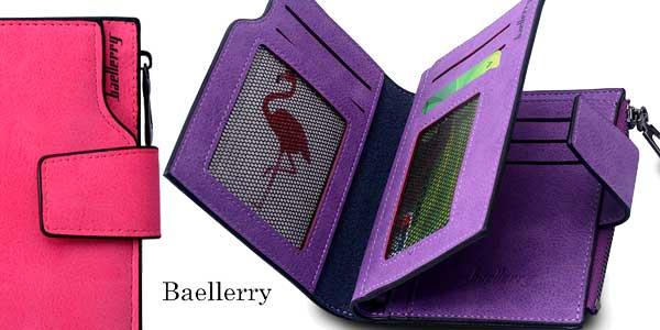 Monedero para mujer Baellerry de cuero sintético en varios colores