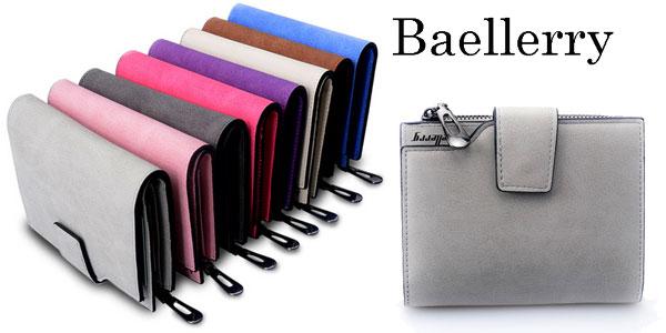 Monedero para mujer Baellerry de cuero sintético barato en AliExpress