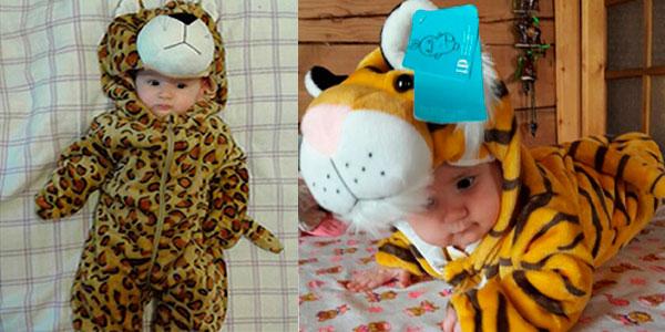Pijamas mono con forma de personajes de dibujos para bebé baratos