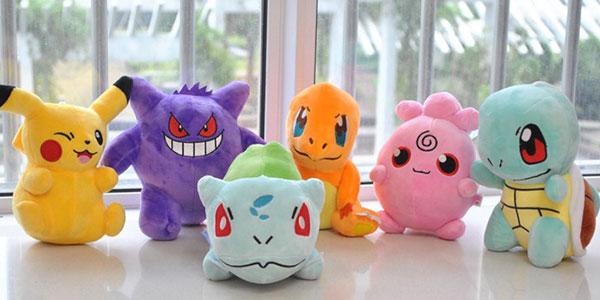 Muñecos de peluche de Pokémon de 20 cm al mejor precio