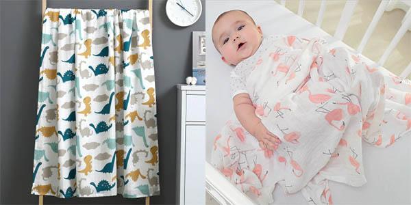 Mantitas para bebé en AliExpress