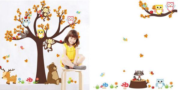Vinilos decorativos para habitaciones infantiles