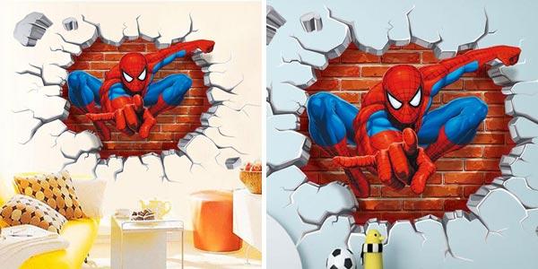 Vinilo adhesivo de Spider Man de 45 x 50 cm chollo en AliExpress