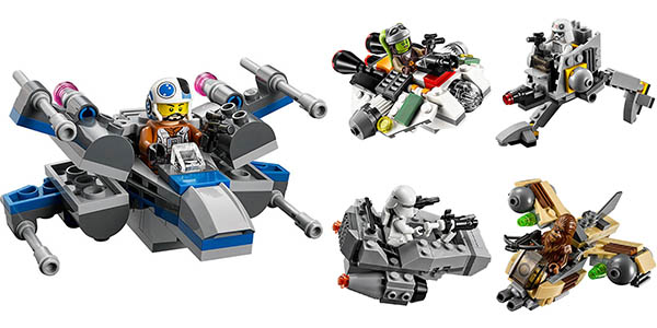 Mini Naves Star Wars tipo LEGO