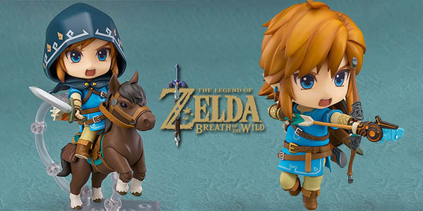 Nendoroid Link de Zelda: Breath of the Wild 733-DX