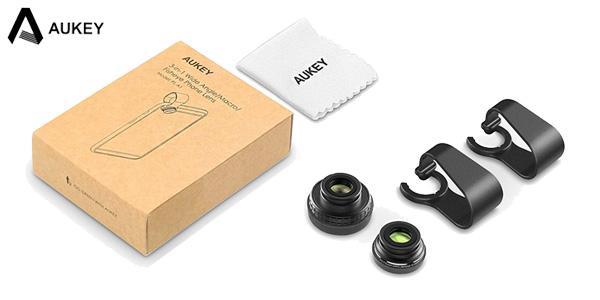 Kit 3 mini-objetivos para smartphone de AUKEY chollazo en AliExpress