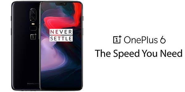 OnePlus 6 de 6,28'' con cámara dual