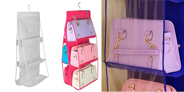 Organizador de bolsos Wu Fang para armario barato