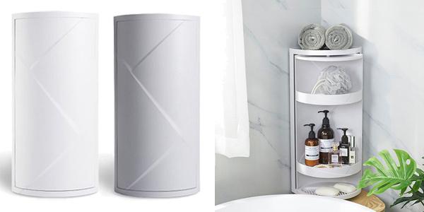 Organizador esquinero para baño o cocina barato en AliExpress