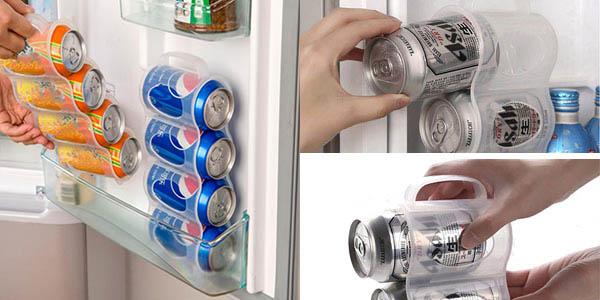 Porta-latas Honana de refresco para poner verticalmente en la nevera barato en Banggood