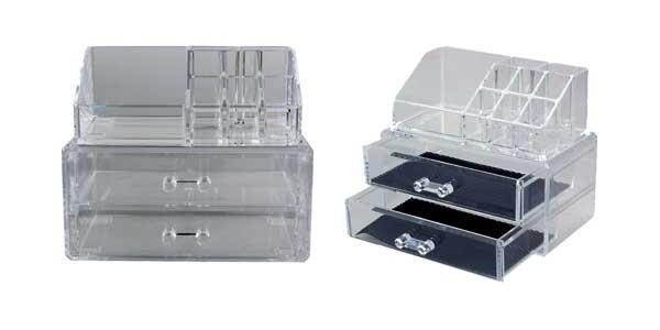 Organizador para maquillaje con varios compartimentos barato en AliExpress