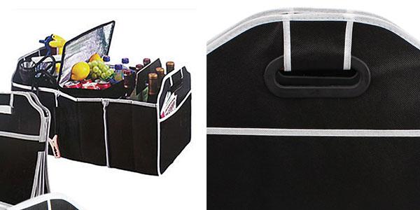 Organizador plegable Sikeo poliester 3 compartimentos muy barato