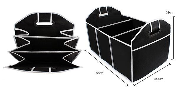 Organizador plegable Sikeo poliester 3 compartimentos al mejor precio en AliExpress