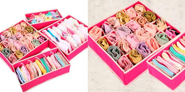 Organizador de ropa interior para cajones en oferta